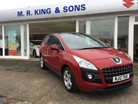 Peugeot 3008 Active 1.6 Petrol Manual Crossover Red 2012