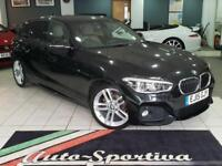2015 BMW 1 Series 1.6 118i M Sport Sports Hatch (s/s) 5dr Petrol black Manual