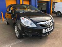 2011 Vauxhall Corsa 1.2i 16v a/c ) Exclusiv 50k Just Serviced