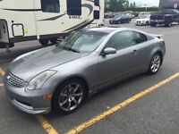 2004 Infiniti G35 6MT Brembo Sport Coupe, Nav, Rubber REDUCED