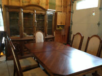 Beautiful Dining Room Set - Possible Harvest Table