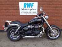 TRIUMPH SPEED MASTER 865, 2009, ONLY 2 OWNERS & 6,202 MILES FSH, LOTS OF EXTRAS