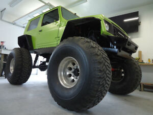 1988 Suzuki Samurai Rock crawler jeep mud project truck mudder