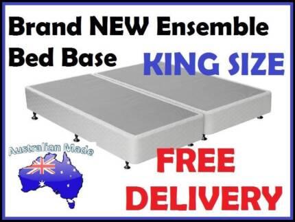 King Size Ensemble Bed Base for King Mattress DELIVERED FREE