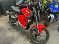 VMOTO SOCO TS1200R Electric Motorbike Red Automatic DELIVERY MILES TS 1200 R