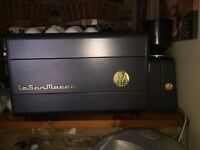 Commercial coffee machine with grinder (La San Marco)
