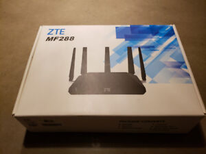 ZTE MF 288 Cellular Modem with wireless router