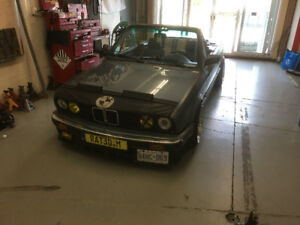 1989 Bmw e30 convertible with every e30 part I own !