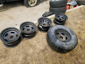 15r 5x4.5 Jeep rims for sale