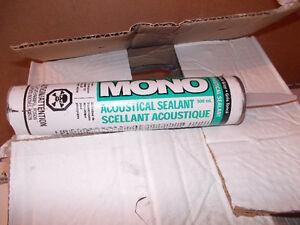 Mono Acoustical Sealant Tubes Dark Gray Colour