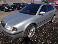 SKODA OCTAVIA 2.0 ELEGANCE~X'2001~5 DOOR HATCHBACK~5 SPEED MANUAL~BRIGHT SILVER