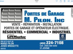 PORTES DE GARAGE R-16