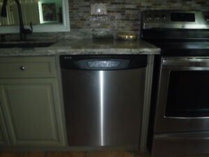 STAINLESS STEEL AMANA DISHWASHER