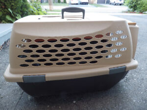 Moving  Quick Sale--Used Top Load Pet Carrier w/Bonus