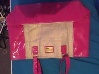 Lipsy beach bag never used