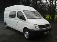 LDV Maxus 2.5Td 9 Seat Transit LWB Size Crew Minibus Splitter Band Van