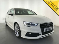 2014 AUDI A3 S-LINE TDI AUTO DIESEL LEATHER INTERIOR 1 OWNER SERVICE HISTORY