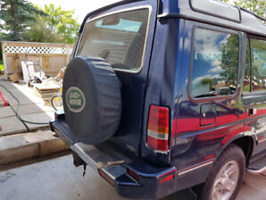 1998 Land Rover.  Only 68,000km.