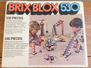 Vintage Brix Blox 530. Made in Japan- Lego Compatible