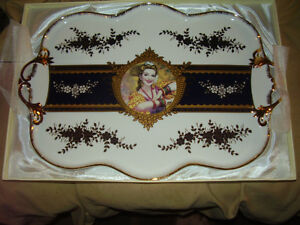 Adeline Fine Porcelain Serving Tray New in Box