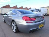 2013 63 REG BMW 6 SERIES 640D M SPORT 3.0TD DIESEL AUTO COUPE DAMAGED SALVAGE