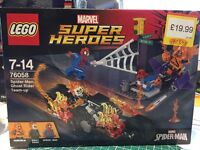 Lego 76058 spider man ghost rider team up - brand new sealed