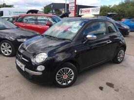 2013 13 reg Fiat 500 1.2 ( S/S ) STUNNING BLACK - FINANCE AVAILABLE