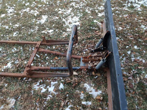 6' plow  and bracket for mini truck