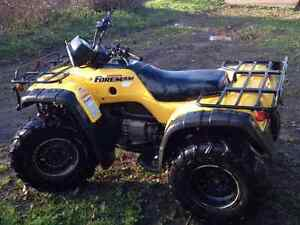 2003 Honda 450 a fourman