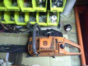 "Husky 272xp 22"" bar rebuilt chainsaw Williams Lake Cariboo Area image 1"