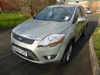 Ford Kuga 2.0TDCi 4x4 Titanium 2008 -Full History. Need finance we can help!