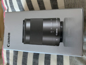 Objectif Canon - EFM 55-200mm 400$