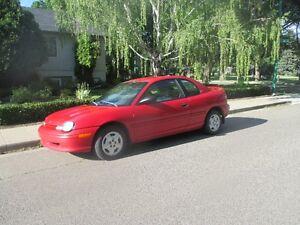 1999 Plymouth Neon EX Coupe (2 door)