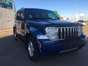2010 JEEP LIBERTY LIMITED,4X4, LEATHER, SUNROOF, FACTORY STARTER