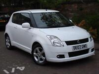 EXCELLENT LOOKS!!! 2007 SUZUKI SWIFT 1.5 GLX 3dr, FSH, 1 YEAR MOT,