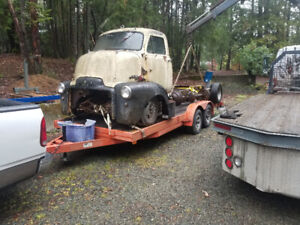 1954 GMC  COE CABOVER PROJECT