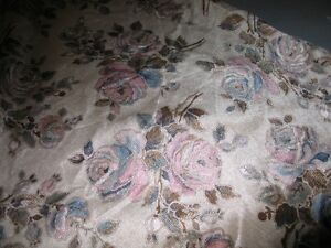 Bolt of suede furniture cloth floral print Kawartha Lakes Peterborough Area image 2