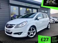 Vauxhall Corsa SRI 1.4i 16v ( a/c ) SRi **White - Only 43,000 miles**