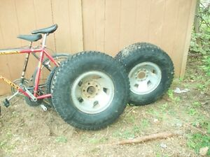 Tires and rims to give away