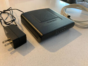 Thomson cable modem dcm 475 works with Rogers and Teksavvy