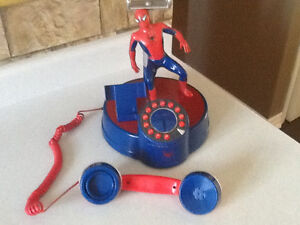 *AWESOME* SPIDERMAN TABLE TOP TELEPHONE London Ontario image 2