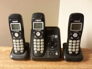 Vtech Dect 6.0 Digital Answering System Cordless Phones