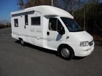 Rapido 741F 2002 4 Berth Rear Fixed Bed Motorhome For Sale