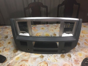 2006 to 2009 Dodge stereo swap parts and pioneer double din nav