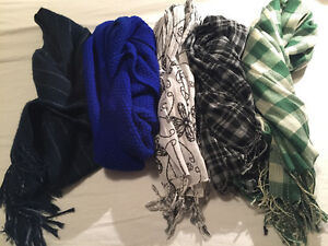 5 scarves - $5 takes all