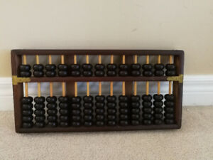 MINT VINTAGE SOLID WOOD Abacus 1920s