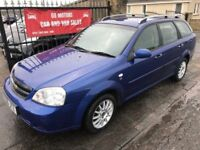 2006 CHEVROLET LACETTI SX 1.6, 1 YEAR MOT, NOT FOCUS ASTRA MEGANE 308 207