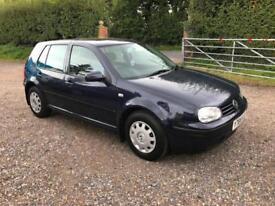 2001 Volkswagen Golf 1.6 S *120,000 miles only*
