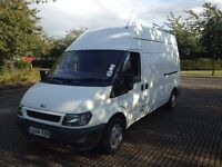 FORD TRANSIT LWB 2005 DIESEL. HIGH TOP. 1 OWNER FROM NEW. HISTORY. LIKE NEW DRIVES PERFECT.