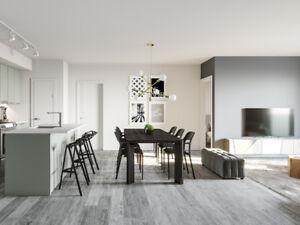 Neuf-5 1/2 Condo Appartements-Ahuntsic-Cartierville-Montréal